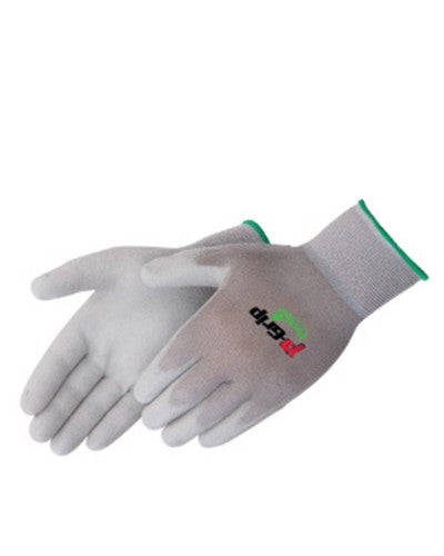 Q-Grip Grey polyurethane - grey shell Gloves - Dozen