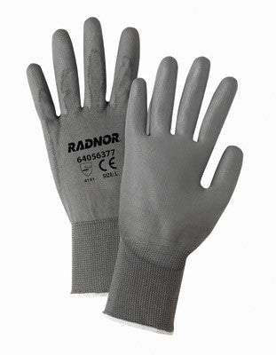 Radnor Economy Polyurethane Palm Coated Gloves