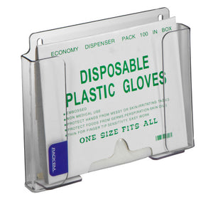 Rack'Em Racks- Poly Glove Dispenser Small