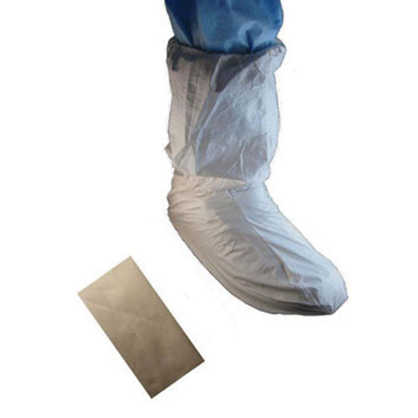 Shoe Cover with PVC Sole with 18-inch MP Upper - Case (100 Pieces)