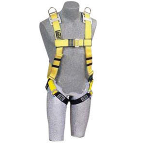 "3M DBI-SALA X-Large Full Body Style Harness With (4) D-Ring With 18"" Extension And Tongue Buckle"