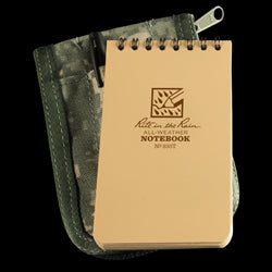 POCKET TOP-SPIRAL KIT Tan Book / ACU Cover