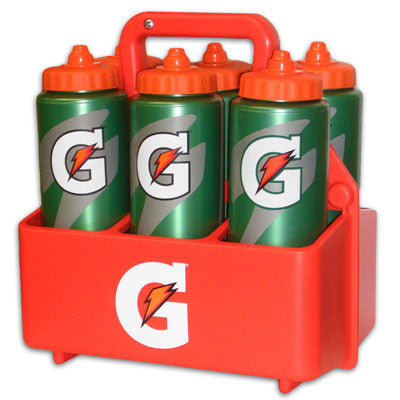Gatorade Sports Carrier with 6 Bottles