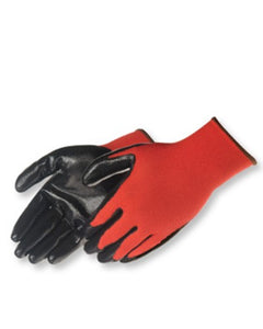 Q-Grip Ultra-Thin Nitrile Palm Coated (red nylon shell) Gloves - Dozen