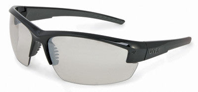 Uvex Mercury Safety Glasses With Black And Gray Frame And SCT-Reflect 50 Hard Coat Anti Scratch Lens (10 Pairs)