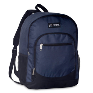 Everest-Casual Backpack w/ Side Mesh Pocket