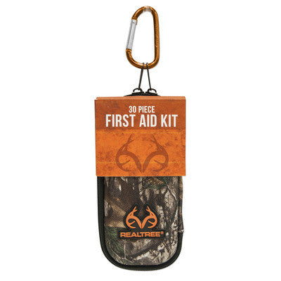 Lifeline Realtree Small Hard-Shell Foam First Aid Kit - 30 Piece
