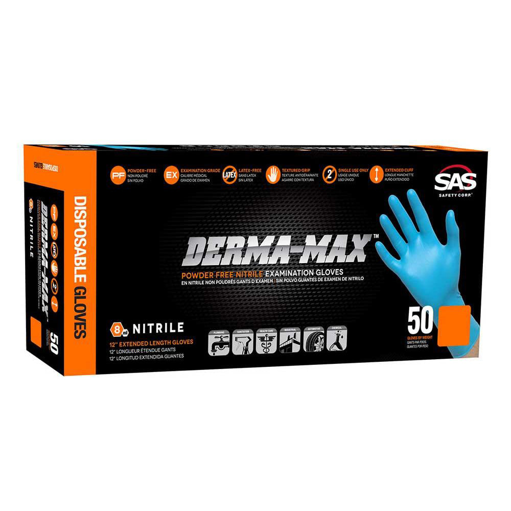 Derma-Max - Powder Free Nitrile Exam Gloves - Box