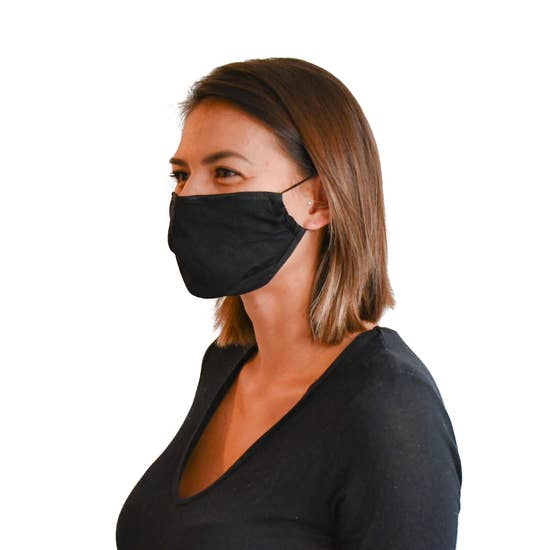 LMC Adjustable, Reusable, Washable Bamboo Face Mask