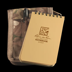 POCKET TOP-SPIRAL KIT Tan Book / Multicam Cover