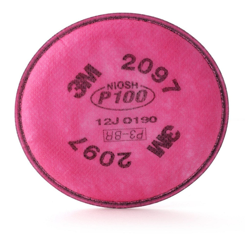 3M 2097 P100 Particulate Filter With Nuisance Level Acid Gas Relief