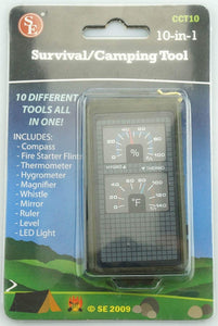 10-in-1 Camping / Survival Tool