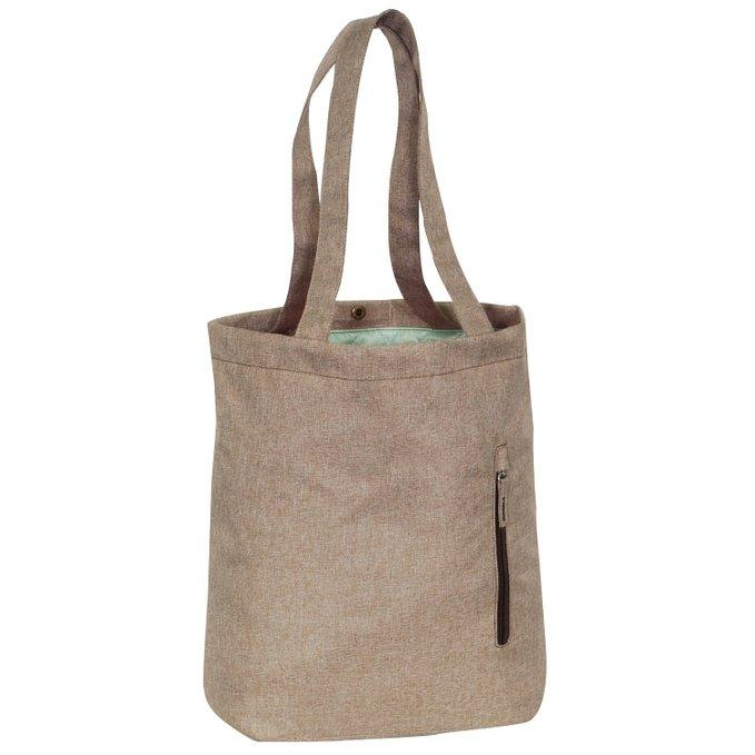 Everest Laptop and Tablet Tote Bag - Tan