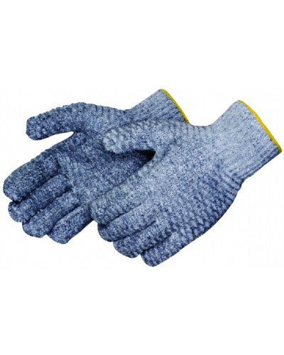 Two-sided clear PVC honeycomb Gloves - Dozen