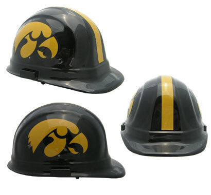 Iowa Hawkeyes - NCAA Team Logo Hard Hat Helmet