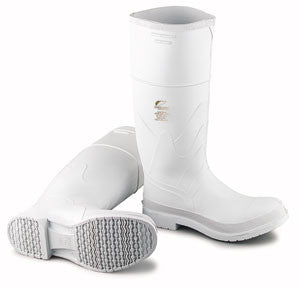 "Onguard 16"" White PVC Steel Toe Boots"