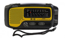 Load image into Gallery viewer, Kaito- KA350YLW Voyager Trek Solar/Crank AM/FM/SW NOAA Weather Radio with 5-LED Flashlight