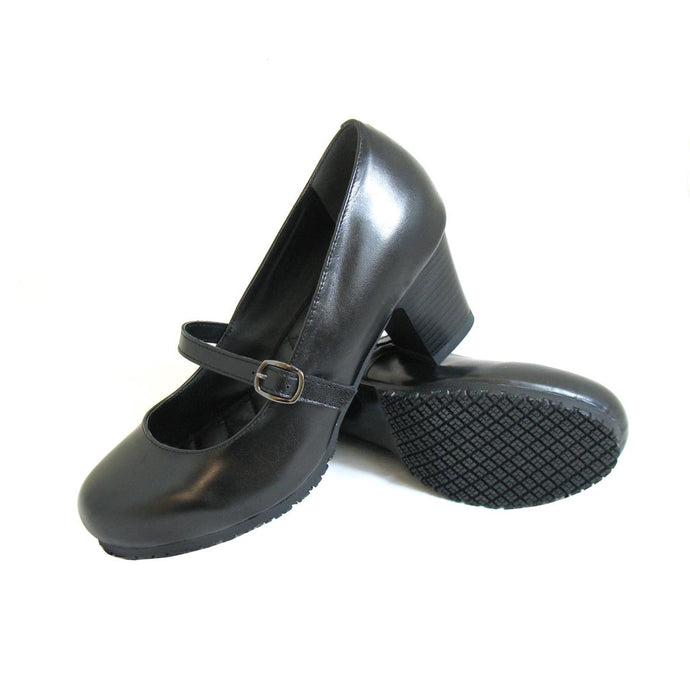 Genuine Grip Footwear- 8200 Black Mary Jane Women's Shoe