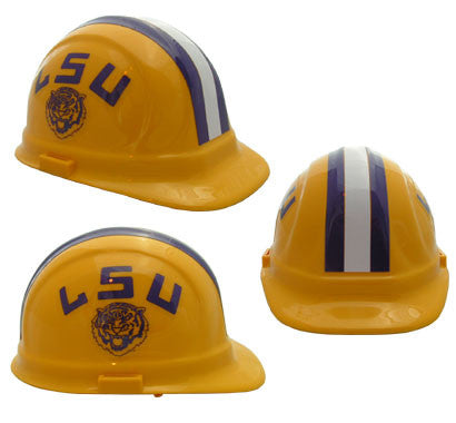 LSU Tigers - NCAA Team Logo Hard Hat Helmet