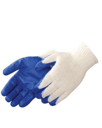 Latex Palm Coated Gloves - Dozen