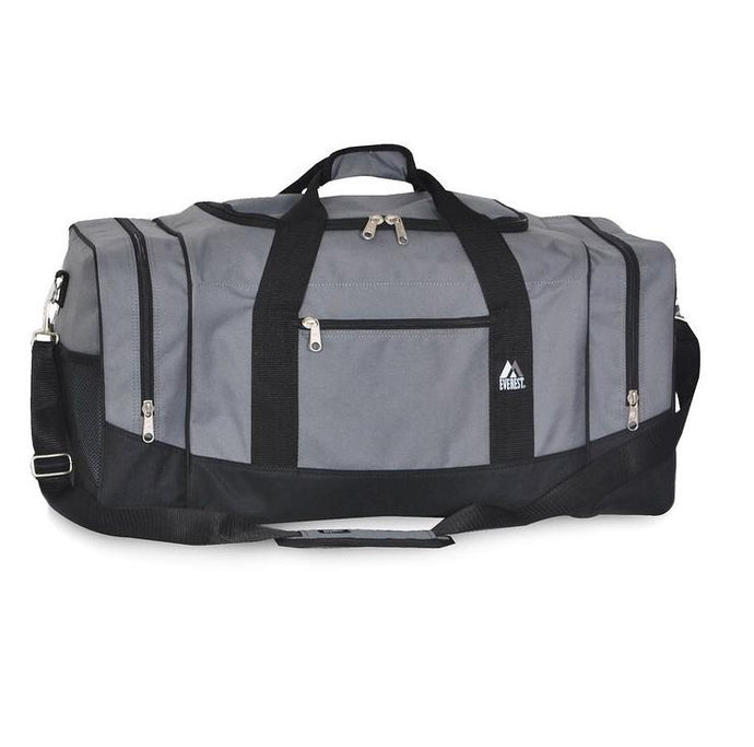 Everest Luggage Sporty Gear Bag - Large - Dark Gray