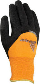 Ansell Size 10 Black And Hi-Viz Orange ActivArmr Nitrile Acrylic And Polyester Lined Cold Weather Gloves With Knit Wrist