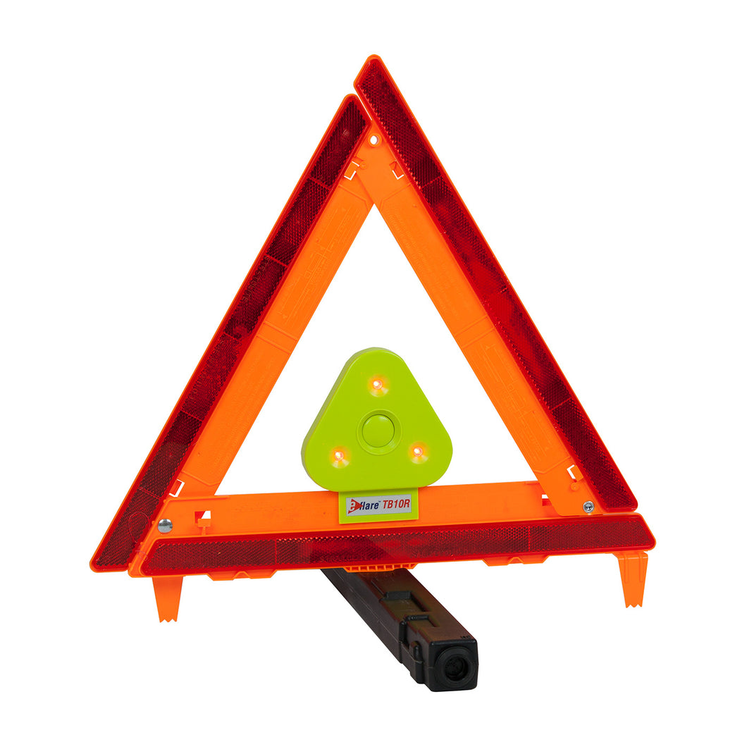 Protective Industrial Products-E-FLARE BEACON FOR SAFETY TRIANGLE