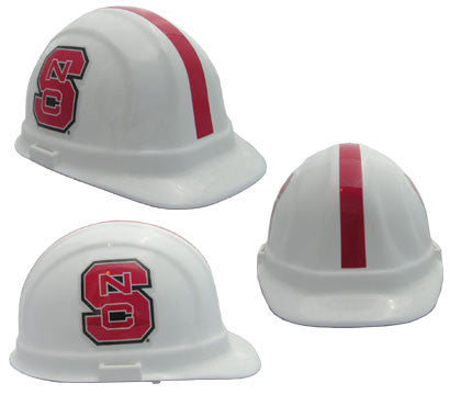 North Carolina State Wolfpack - NCAA Team Logo Hard Hat Helmet