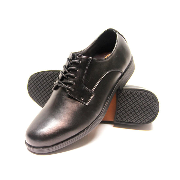 Genuine Grip Footwear- 940 Black Dress Oxford Women's Shoe