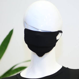LMC Textured Fabric Face Mask - Black