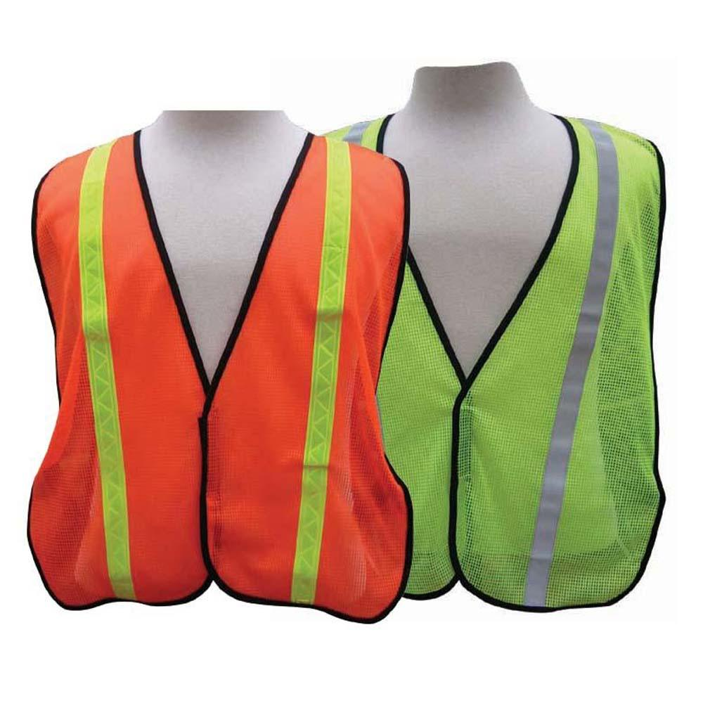 "All-Purpose Mesh Safety Vest - 1"" refective stripe"