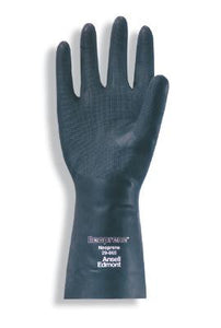 "Ansell - 13"" Flock Lined Unsupported Neoprene Gloves"
