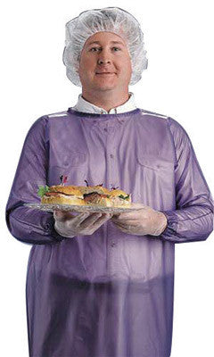 Ansell Large Blue 8 mil Vinyl Chemical Protection Apron