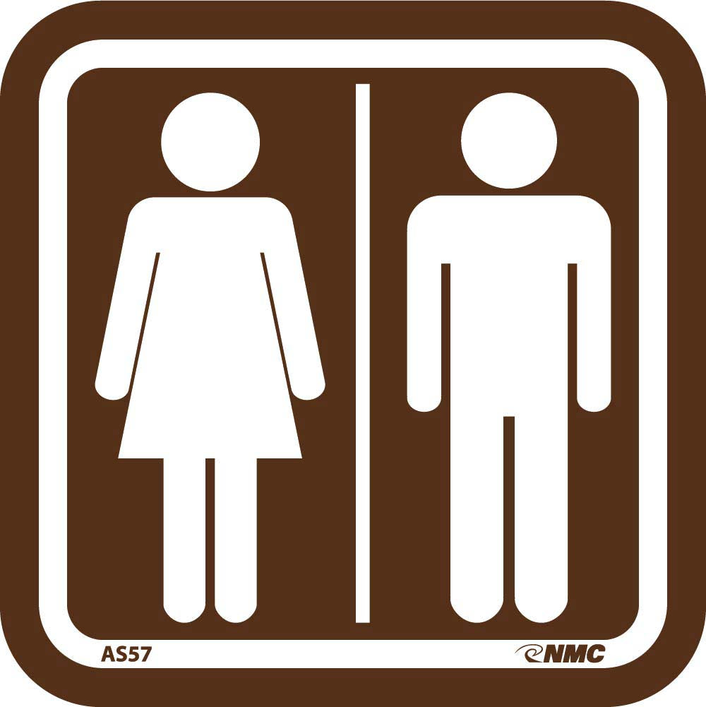 Men/Women Graphic Architectural Sign