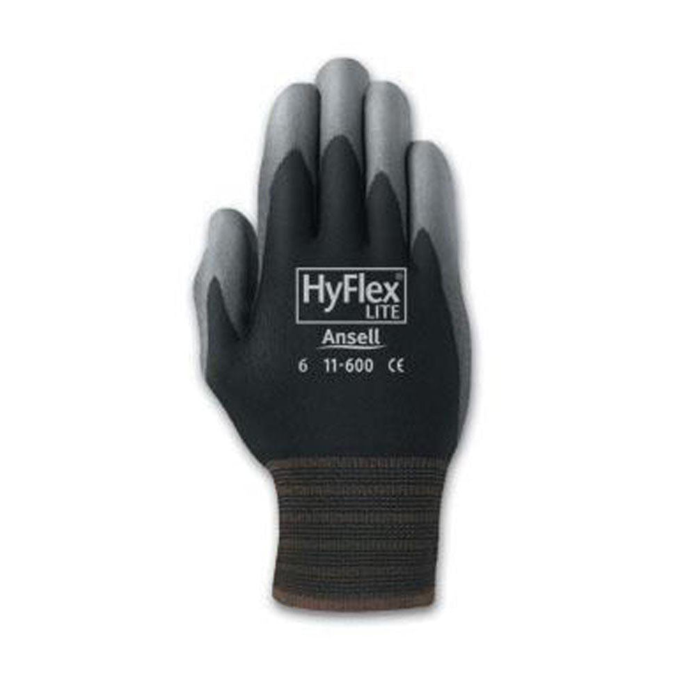 Ansell - HyFlex 11-600 Light Duty Multi-Purpose Work Gloves