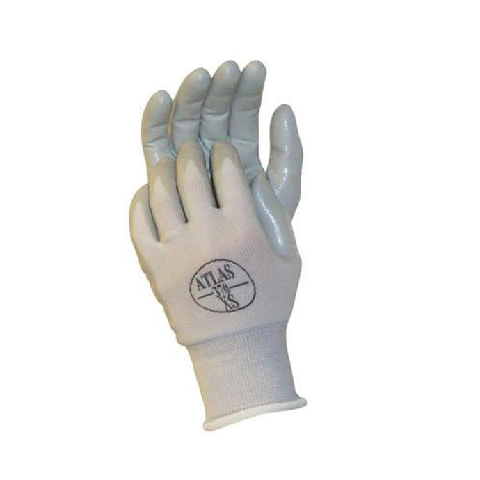 Atlas Assembly Grip Coated Glove White Color