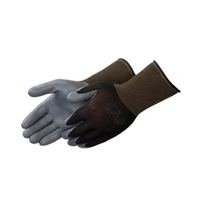 Atlas Black Assembly Grip Coated Glove