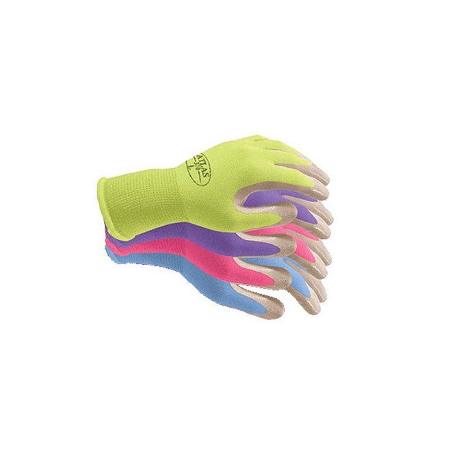 Atlas Gray Nitrile Grip Coated Work Glove (Assorted Color)