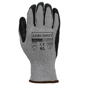 Azusa Safety - AZNBR-009 Nitrile Cut Resistant Gloves - ANSI Cut Level 3