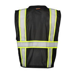 ML KISHIGO Enhanced Visibility Multi Pocket Mesh Vest
