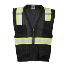 Load image into Gallery viewer, ML KISHIGO Enhanced Visibility Multi Pocket Mesh Vest