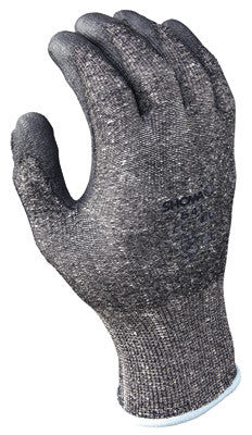 SHOWA Best Glove Size 9 SHOWA 541 13 Gauge Cut Resistant Gray Polyurethane Dipped Palm Coated Work Gloves With Light Gray Seamless Dyneema And High Performance