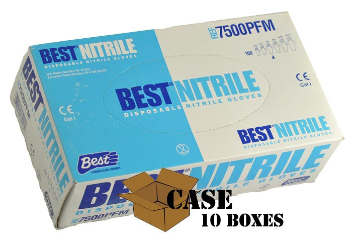 Best - Nitrile Gloves, Pebble Finish - Case
