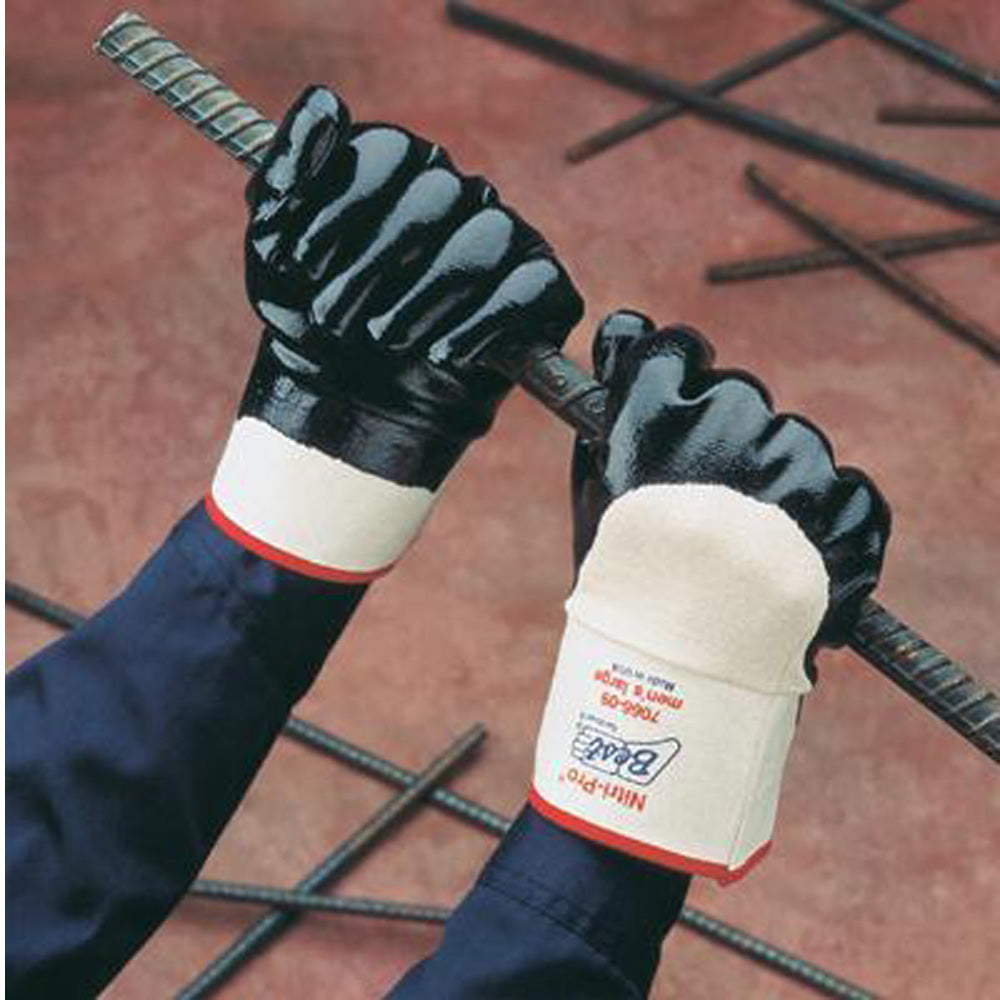 Best Nitri-ProLarge Nitrile  Work Gloves
