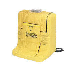 Bradley On-Site Portable Gravity Fed Eye Wash Unit With Wall Mount Bracket And Heater Jacket