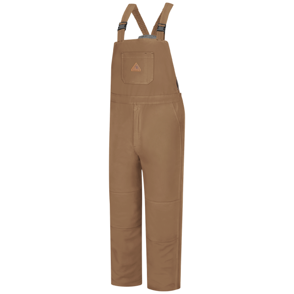 Bulwark - Brown Duck Deluxe Insulated Bib Overall - EXCEL FR ComforTouch