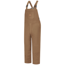 Load image into Gallery viewer, Bulwark - Brown Duck Deluxe Insulated Bib Overall - EXCEL FR ComforTouch