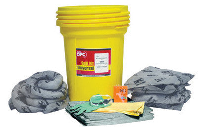 Brady 30 gal Drum Allwik Lab Pack Absorbent Spill Kit
