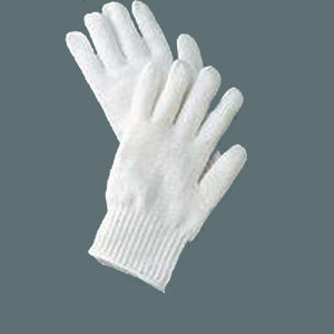 Bleached String Knit Gloves