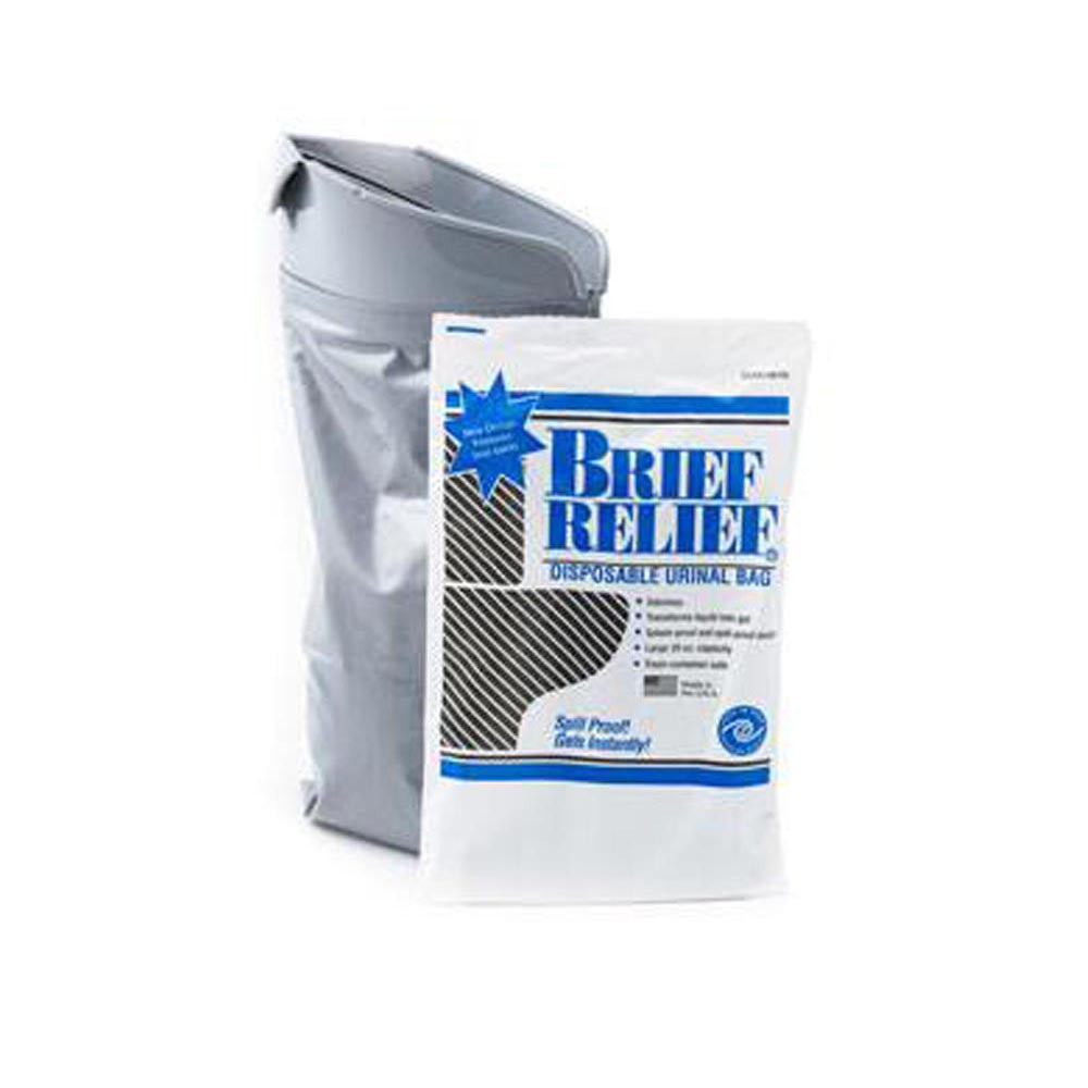 Brief Relief Disposable Urinal Bag